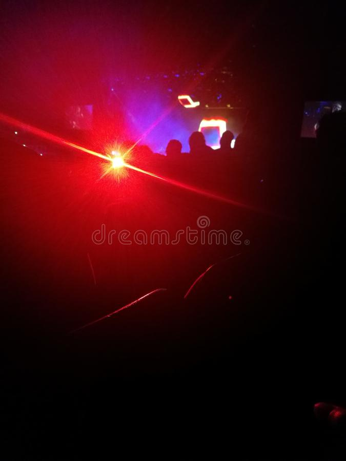 Concert music lights arena party royalty free stock images