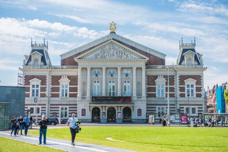 Concertgebouw, Amsterdam fotos de archivo