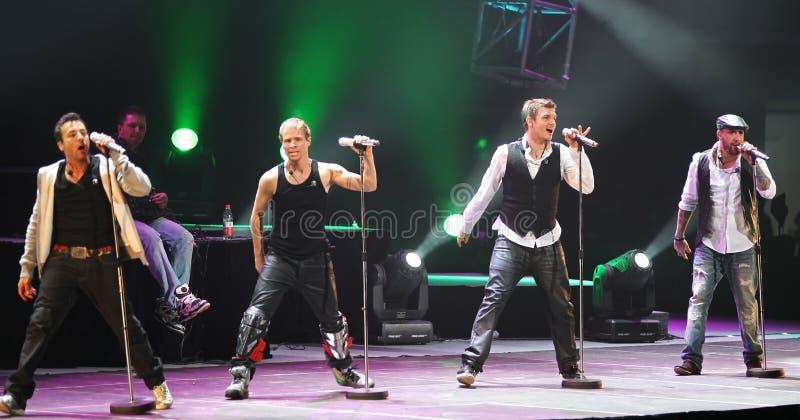 Concerto de Beijing da excursão do mundo de Backstreet Boys fotografia de stock