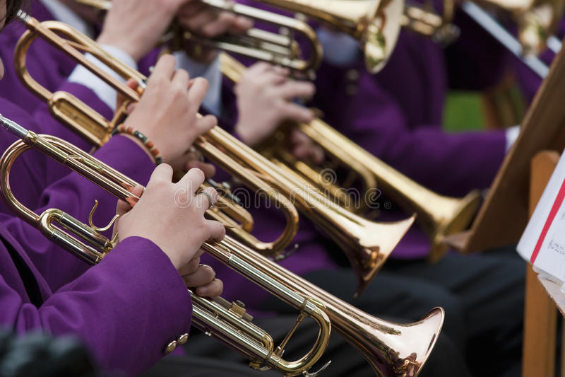 Concerto della tromba immagini stock libere da diritti