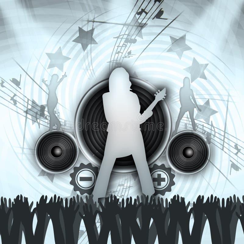 Concerto di Grunge royalty illustrazione gratis