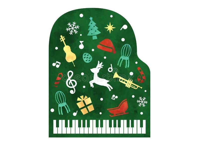 Concerto di Natale2 royalty illustrazione gratis