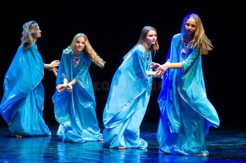 Concerto do teatro de dança de Kolibri, Minsk, Bielorrússia imagens de stock