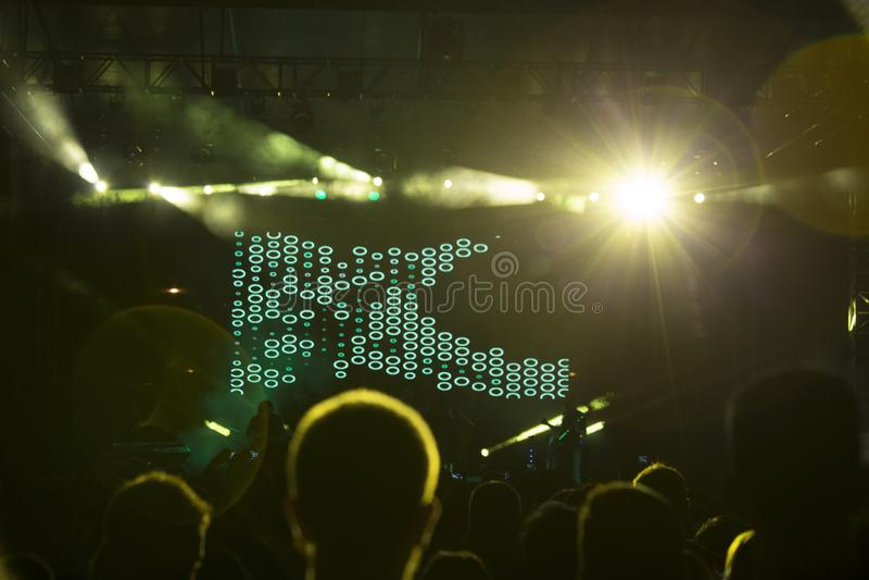 concerto fotografia stock