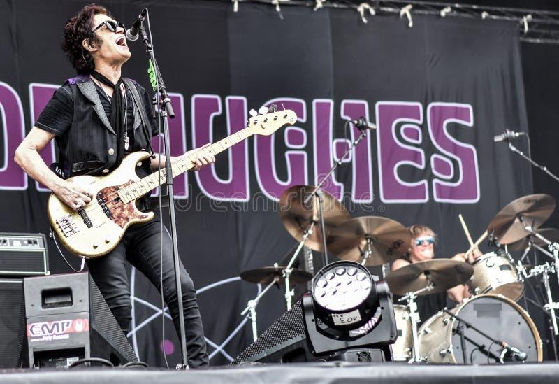 Concerto in tensione 2016, Hellfest di Glenn Hughes immagine stock libera da diritti