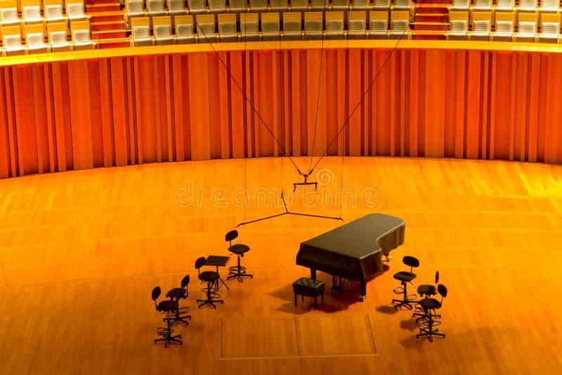 Concertzaal stock foto