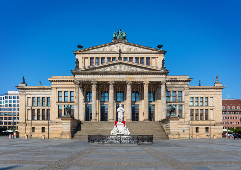 Concertzaal in Gendarmenmarkt, Berlijn royalty-vrije stock fotografie