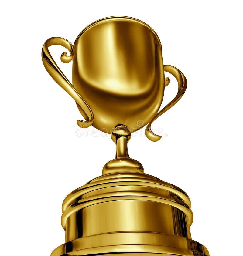 Concesión del trofeo ilustración del vector