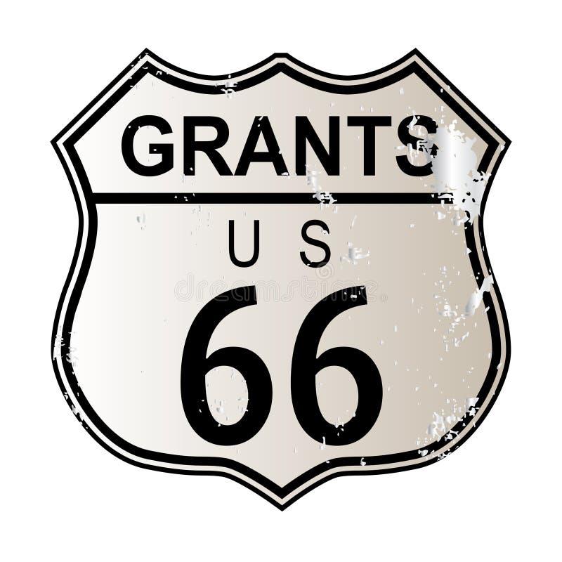 Concesiones Route 66 ilustración del vector