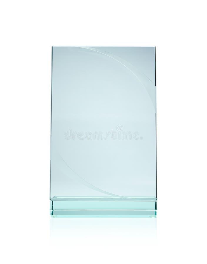Concessão de vidro em branco foto de stock royalty free