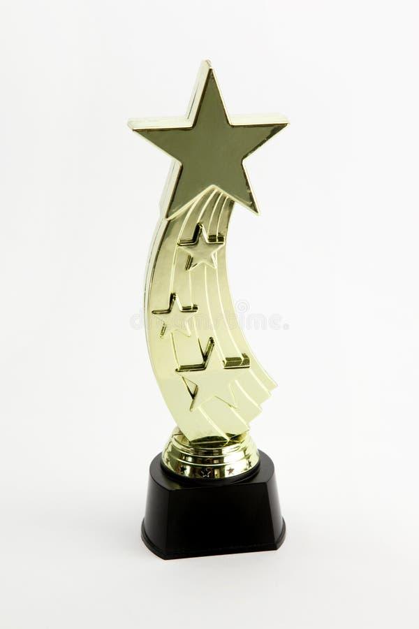 Concessão Shinning da estrela fotografia de stock