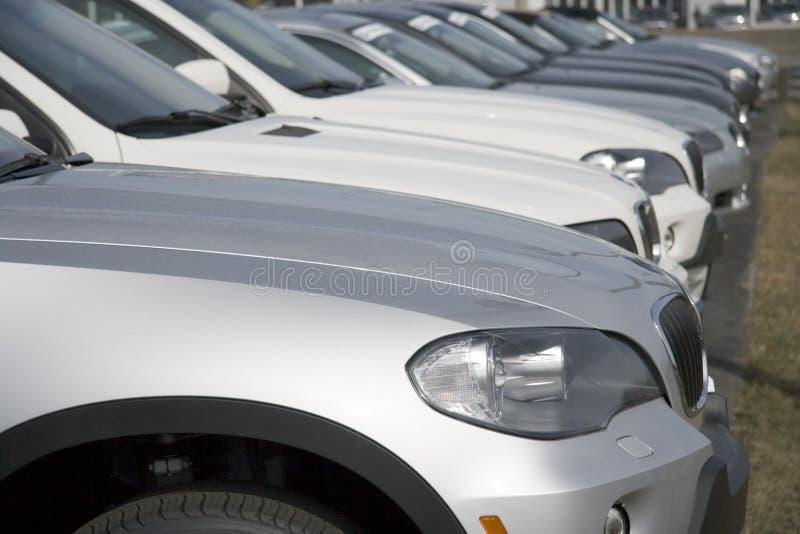 Concessionnaire automobile 2 images libres de droits