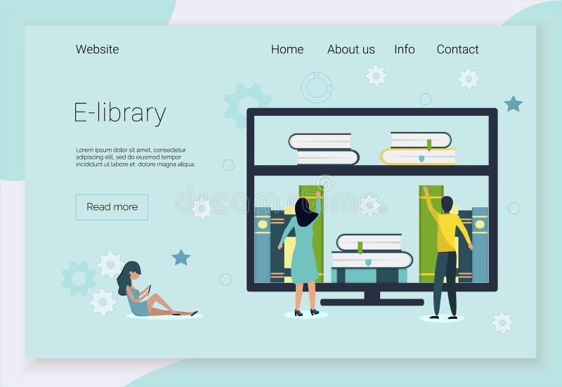 Concetti per i corsi di lingue illustrazione di stock