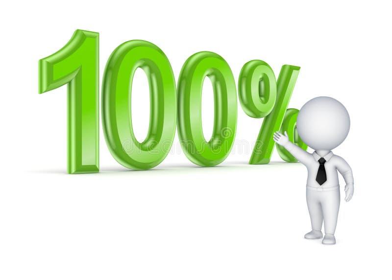 Concetto 100 . Fotografia Stock