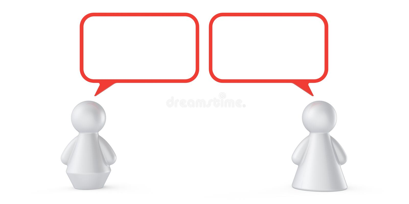 Concetto astratto di comunicazione