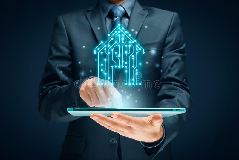 Concetto astuto di app della casa immagine stock libera da diritti