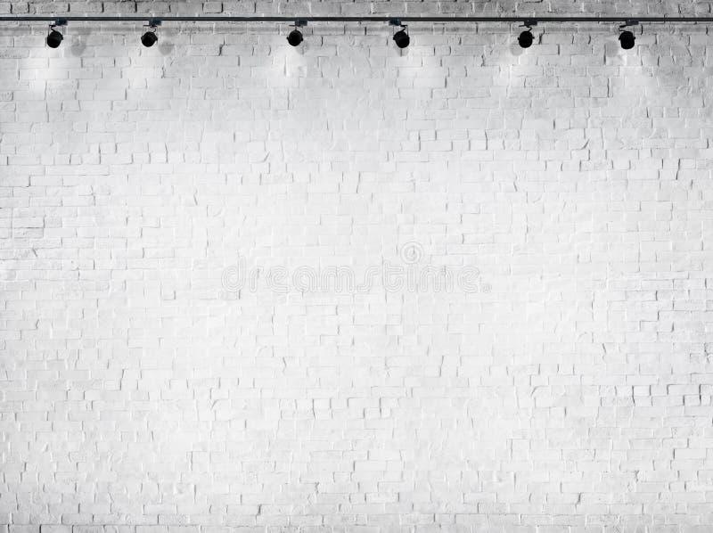 Concetto bianco concreto del materiale di illuminazione del fondo immagini stock libere da diritti