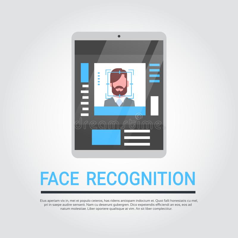 Concetto Biometrico D'esplorazione Dell'identificazione ...