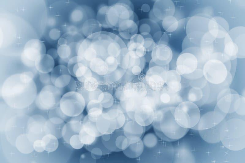 Concetto blu del fondo di Natale immagini stock
