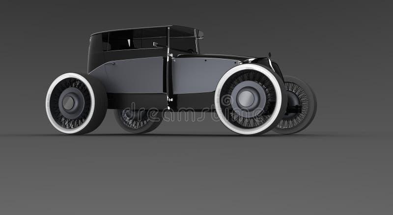 Concetto classico dell'automobile illustrazione vettoriale