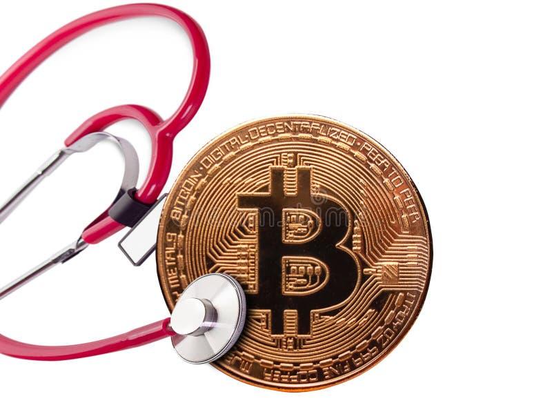 Concetto, controllo sanitario finanziario immagini stock libere da diritti