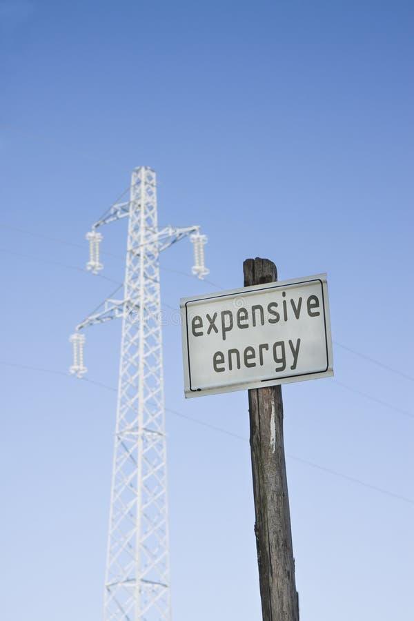 Concetto costoso di energia fotografie stock
