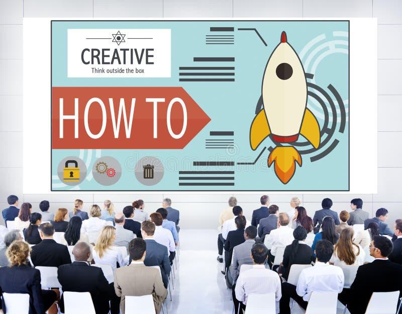 Concetto creativo di piano di successo di crescita di sviluppo dell'innovazione immagini stock