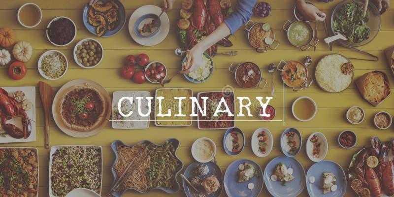 Concetto culinario di cucina dell'alimento salutare di qualità fotografia stock