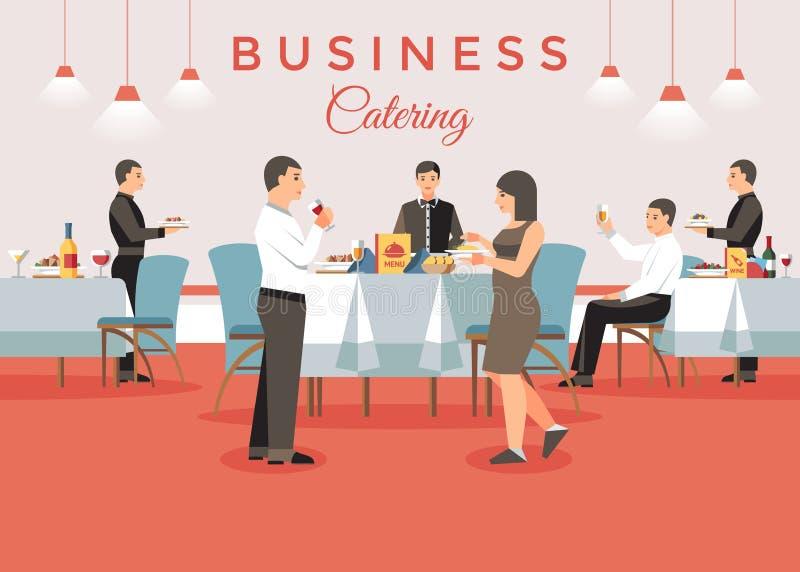 Concetto d'approvvigionamento di affari Illustrazione di vettore royalty illustrazione gratis