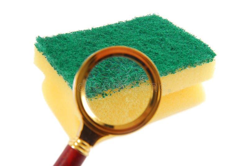 Concetto dei batteri fotografia stock
