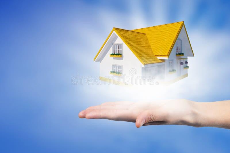 Concetto 6 del bene immobile immagine stock immagine di for Concetto casa com