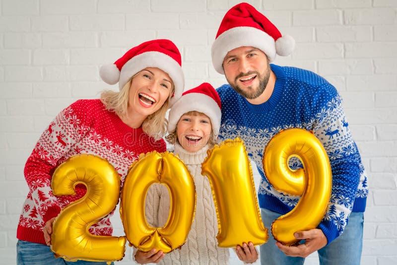 Concetto 2019 del buon anno fotografia stock libera da diritti