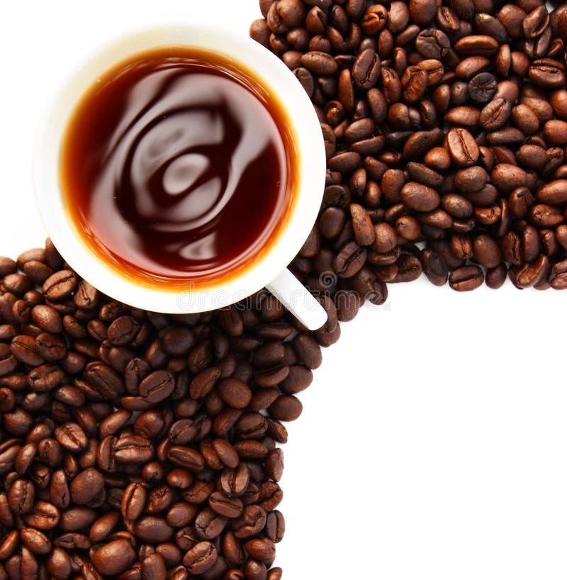 Concetto del caffè fotografia stock libera da diritti