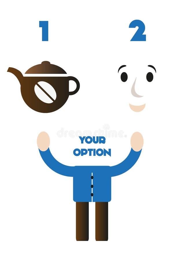 Download Concetto Del Caffè Di Vettore Illustrazione di Stock - Illustrazione di testa, arte: 56880893
