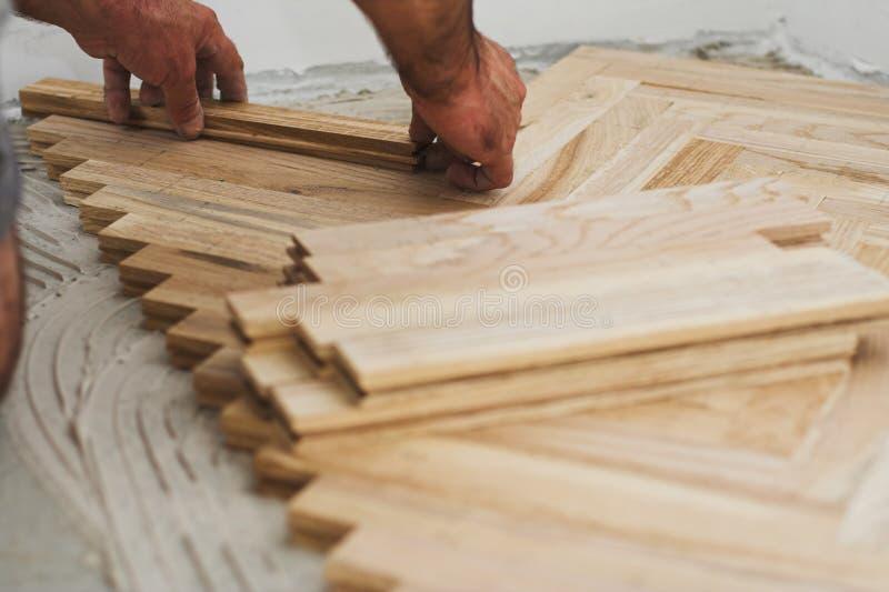 Concetto del carpentiere e del parchè immagine stock