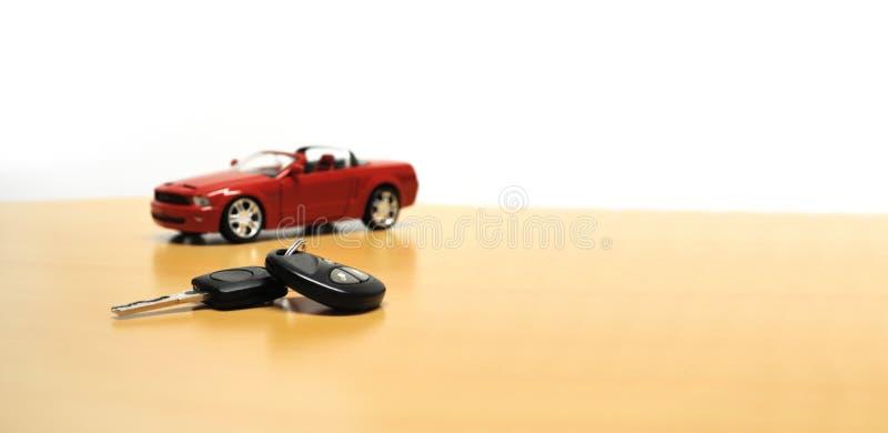 Concetto del commerciante di automobile fotografia stock