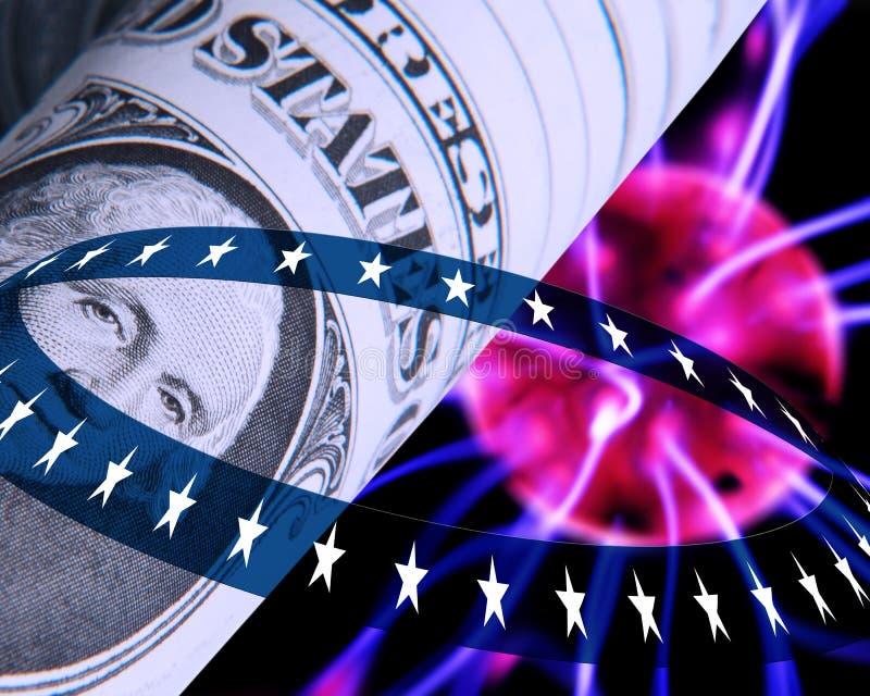 Concetto del dollaro US illustrazione vettoriale