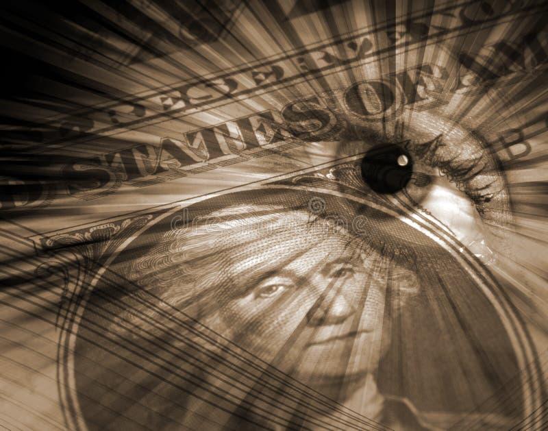 Concetto del dollaro US royalty illustrazione gratis
