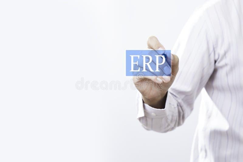 Concetto del ERP immagine stock libera da diritti