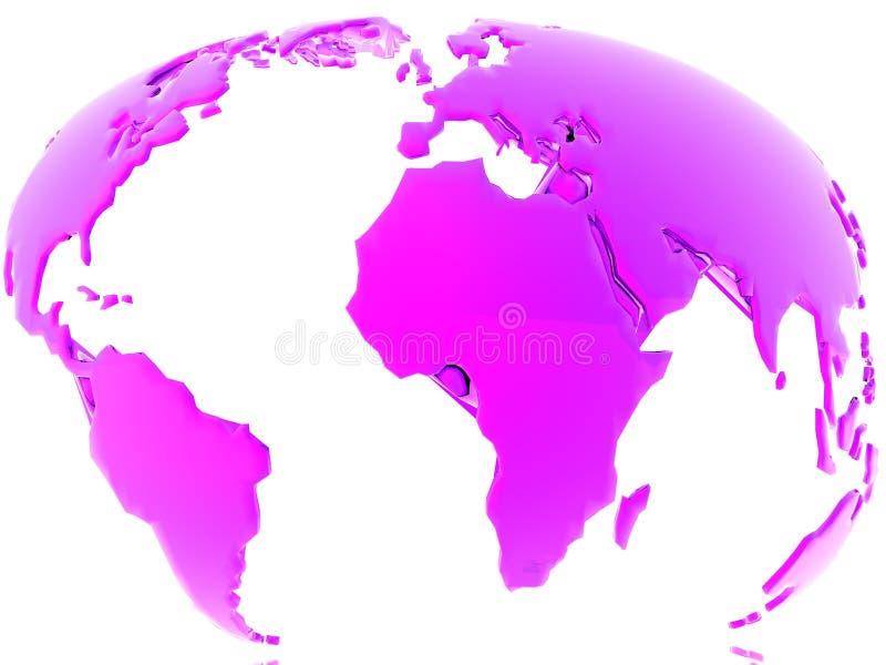 Concetto del globo illustrazione di stock