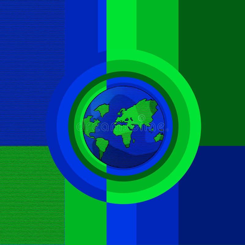 Concetto del globo illustrazione vettoriale