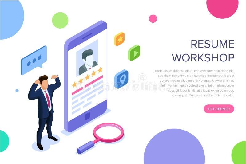 Concetto del gruppo di lavoro del riassunto con i caratteri Può usare per l'insegna di web, il infographics, immagini dell'eroe V royalty illustrazione gratis