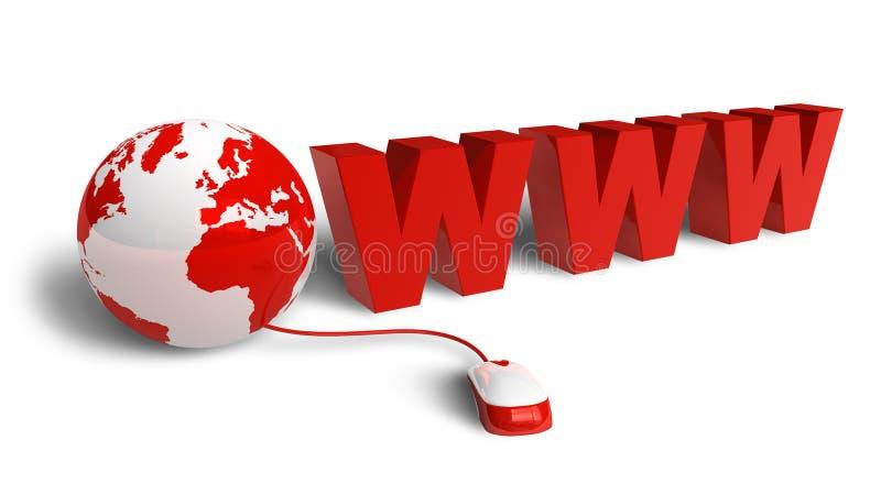 Concetto del Internet royalty illustrazione gratis