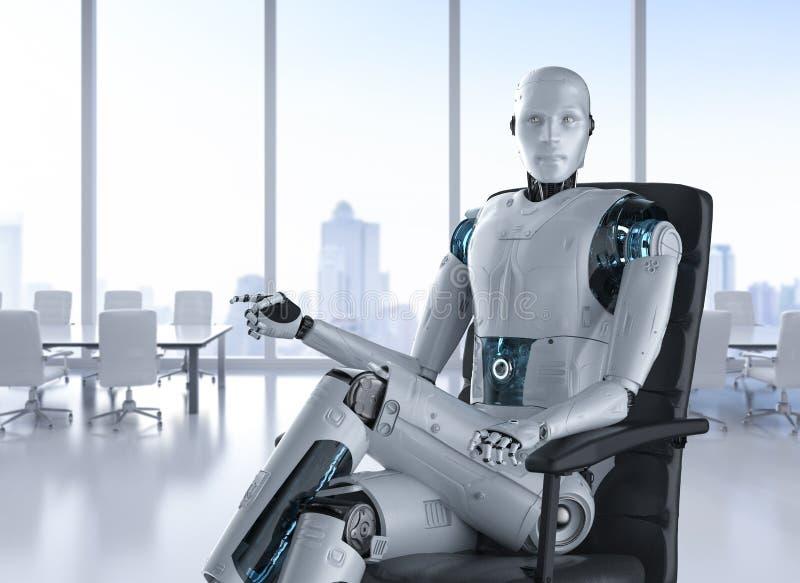 Concetto del lavoratore di automazione