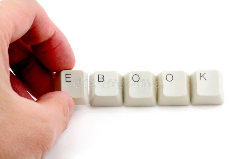 Concetto del libro elettronico immagini stock