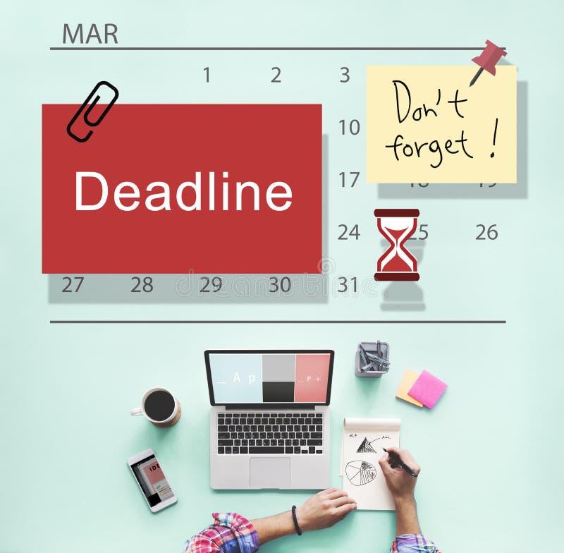 Concetto del pianificatore del calendario della nota di for Pianificatore di blueprint gratuito