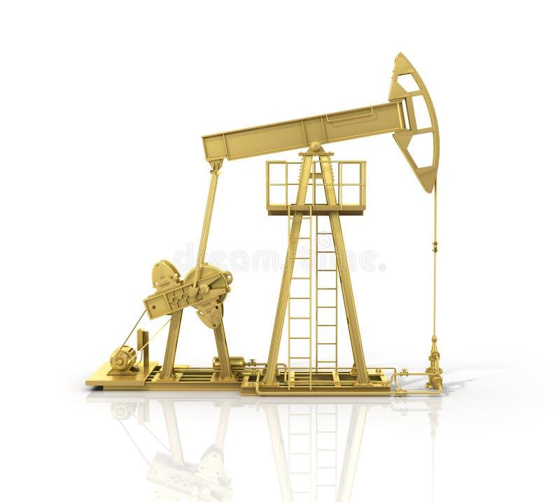 Concetto del resourse di energia illustrazione di stock