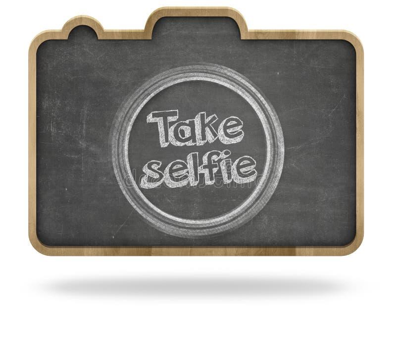Concetto del selfie della presa immagine stock libera da diritti