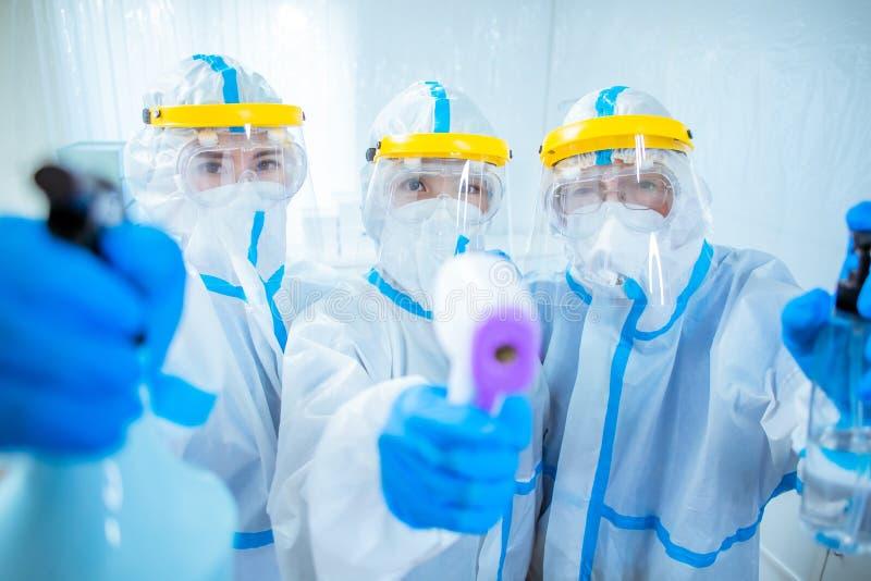 Concetto del test Coronavirus immagini stock