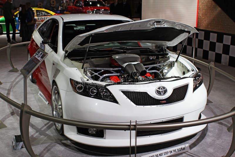 Concetto del Toyota Camry immagini stock libere da diritti